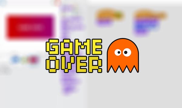 Programar un game over en Scratch