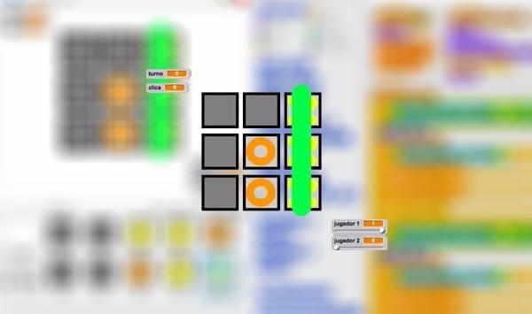 Programar Tres en Raya en Scratch