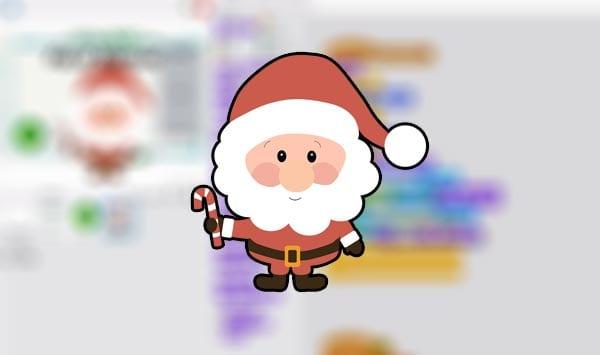 Felicitación Navidad en Scratch