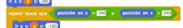 Integrar no submúltiplos de 240 en Scratch