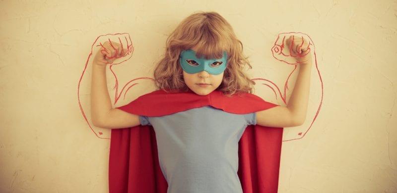 Niña Superhero Scratch Podcast