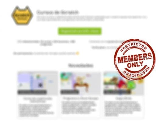 Scratch School Membership Site