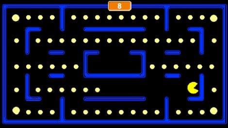 Pacman Pepitas grandes en Scratch