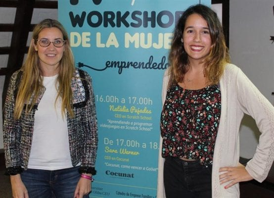 workshop mujer emprendedora Scratch School