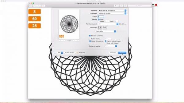 Configurar impresión Mandala en Scratch