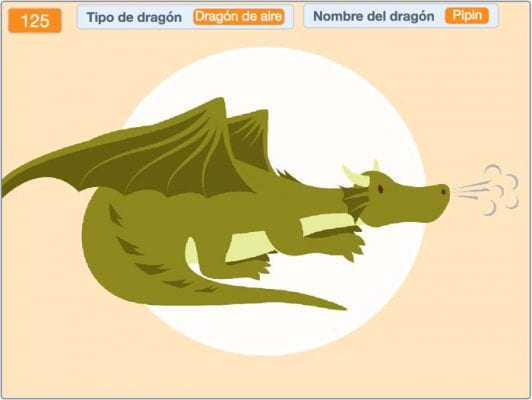 Dragón de Aire Pipin Scratch