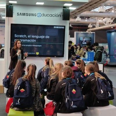 Samsung Scratch School Natalia Pujades